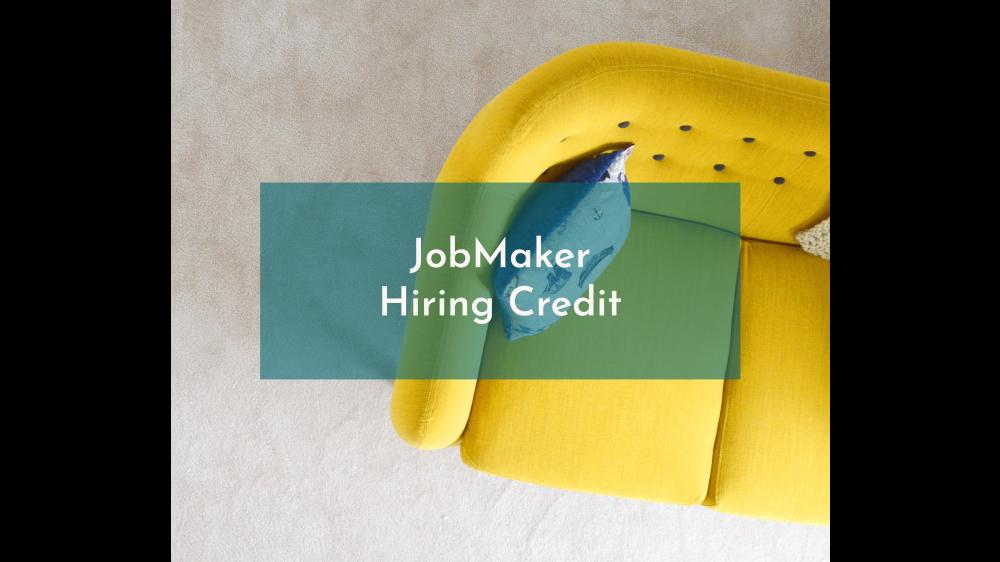JobMaker Hiring Credit Registrations – NOW OPEN!