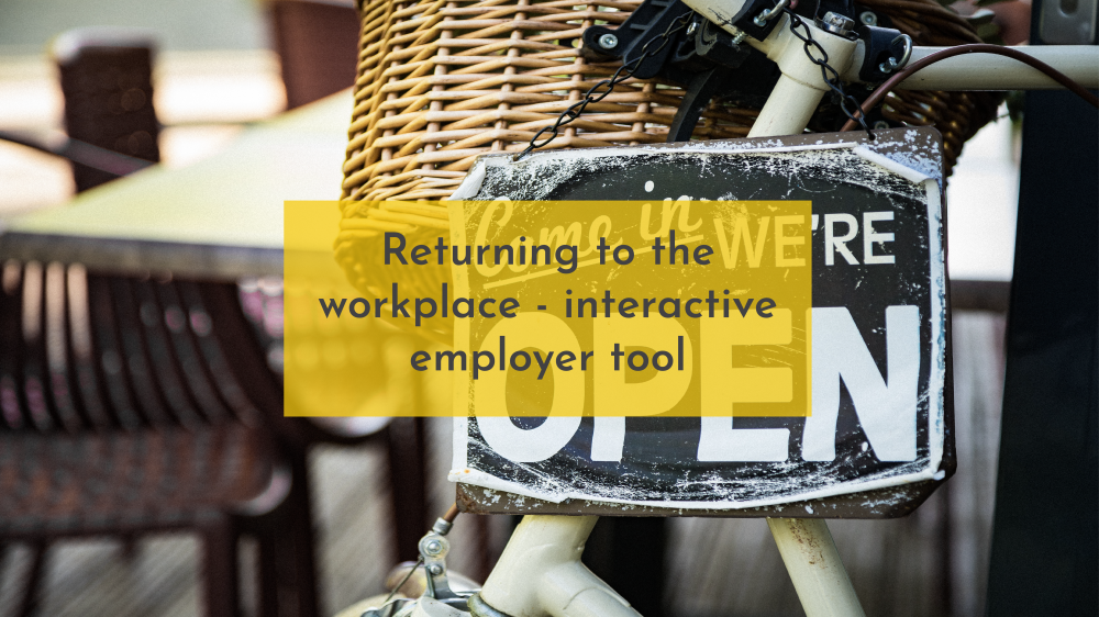 FWO outlines how to return to the workplace