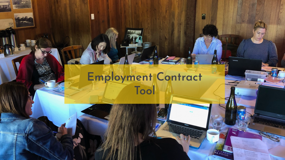 Employment Contract Tool